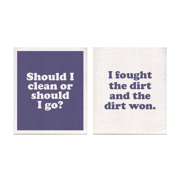 London Calling Swedish Dishcloth Set