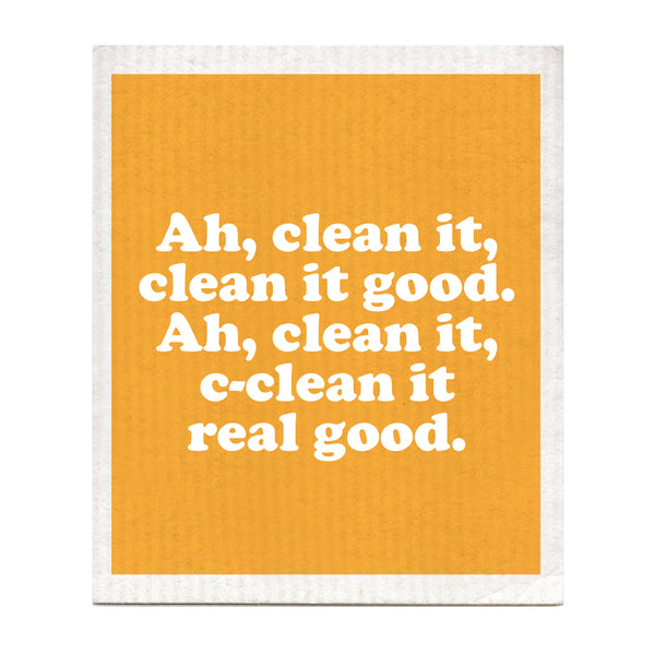Clean It Real Good Swedish Dishcloth