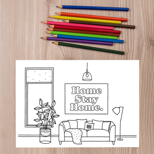 FREE! Printable Isolation Coloring Sheets