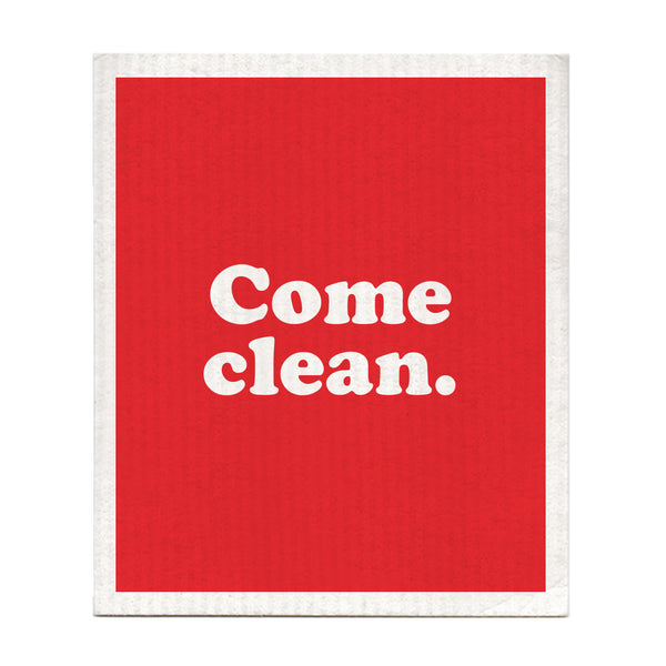 Come Clean Swedish Dishcloth
