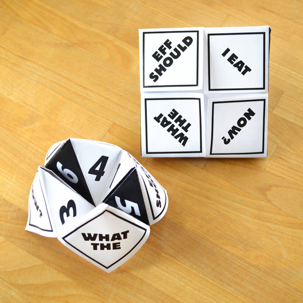 FREE! Printable Isolation Fortune Tellers