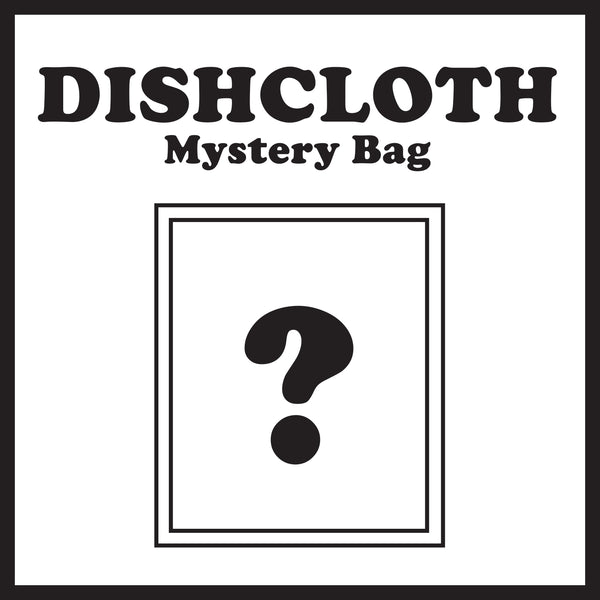 Mystery Dishcloth Bag (Set of Three)