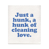 A Hunk Of Cleaning Love Swedish Dishcloth