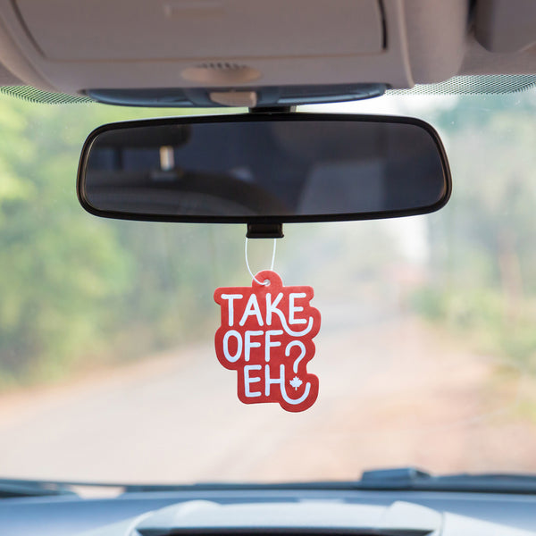 Take Off Eh? Air Freshener