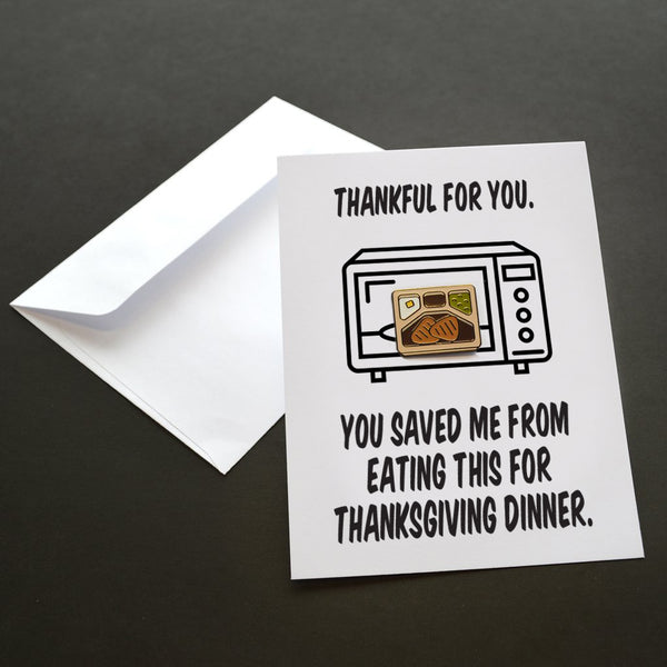 Thanksgiving Pin Card