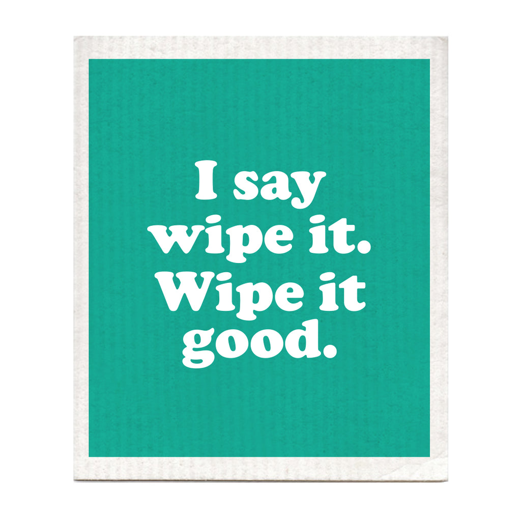Wipe It Good Swedish Dishcloth