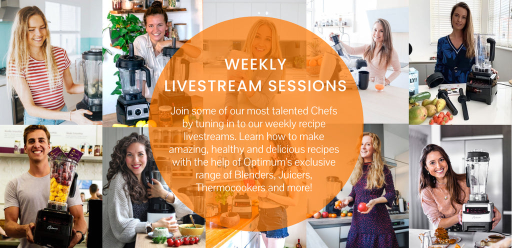 Froothie-live-streams-product-demonstrations-cook-like-a-professional-recipes-tips-tricks