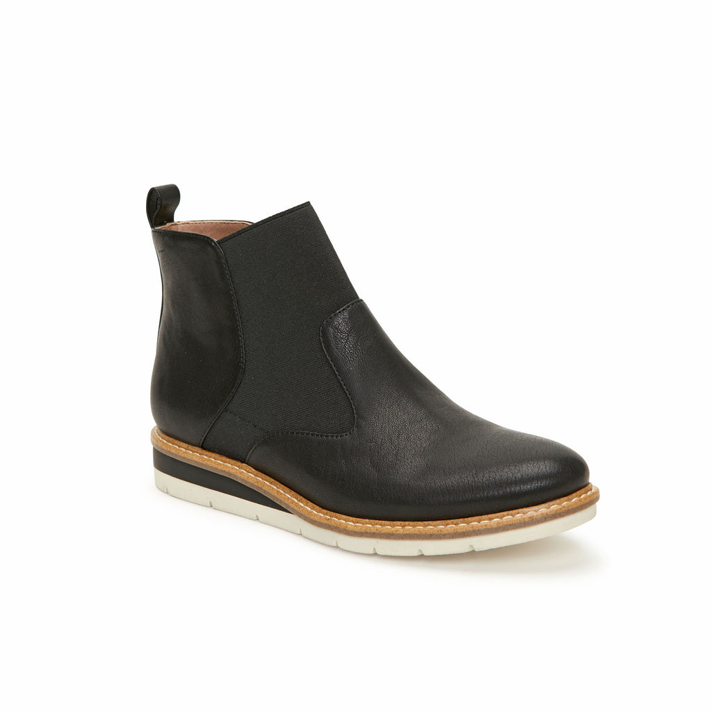 Apollo Black Leather -  bootie - Adam Tucker