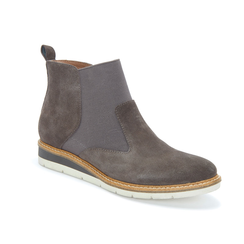 Apollo Cool Grey Suede -  bootie - Adam Tucker