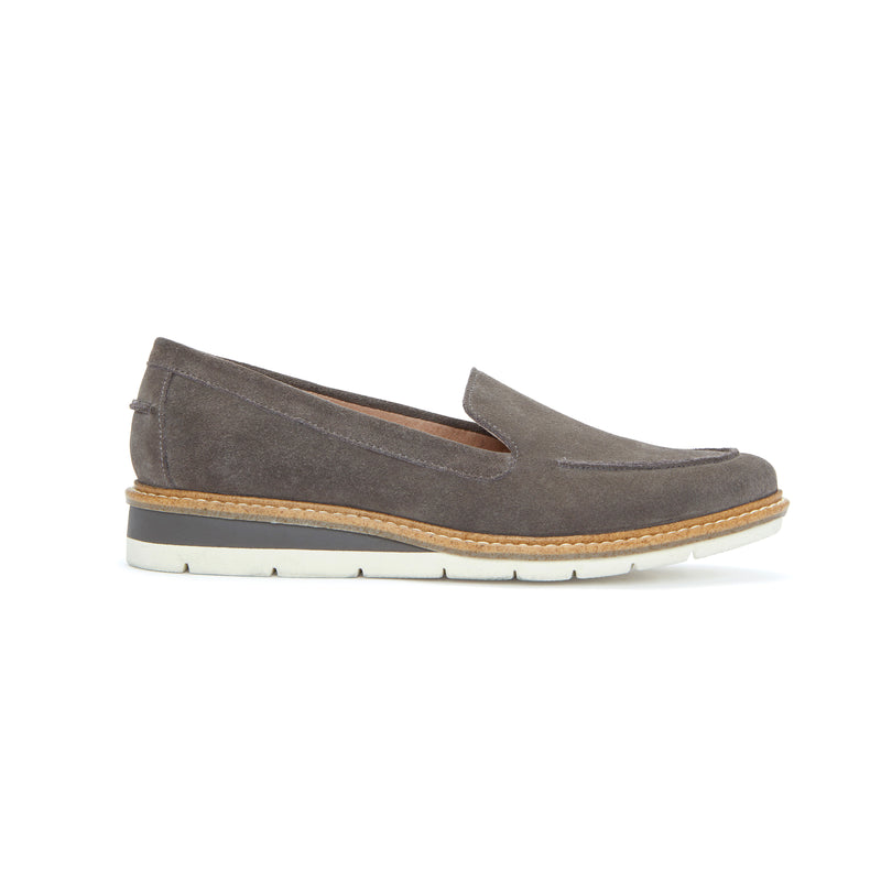 Athens Cool Grey Suede -  Loafer - Adam Tucker