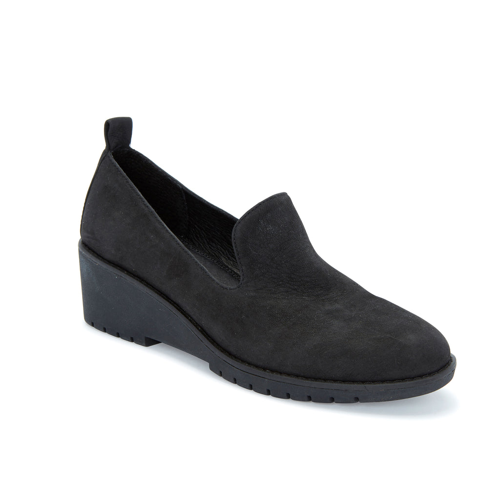 Nexi Black Leather -  Loafer - Adam Tucker