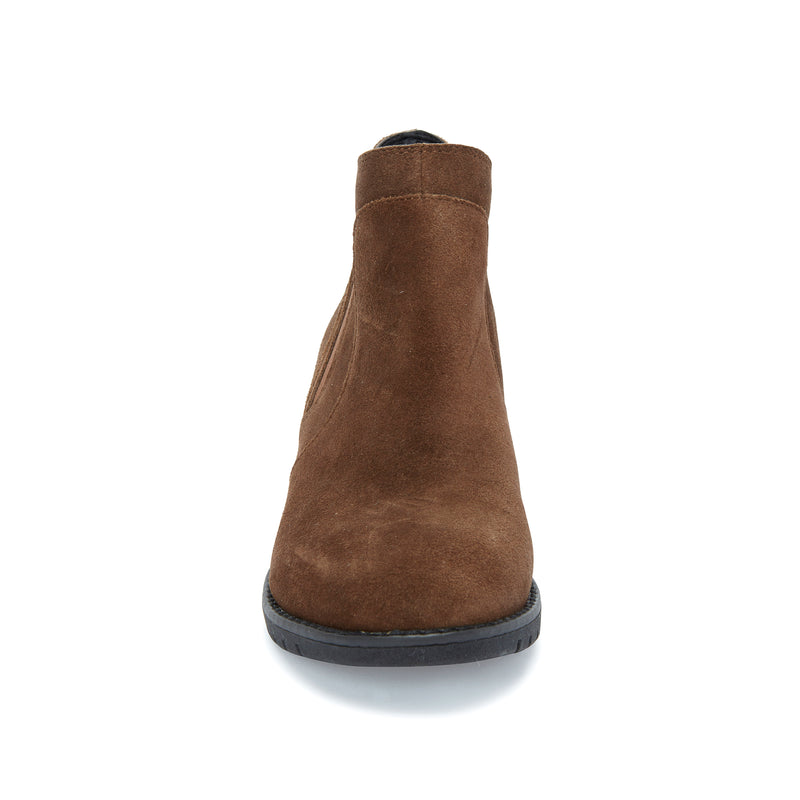 Nexus Vintage Brown Suede -  bootie - Adam Tucker
