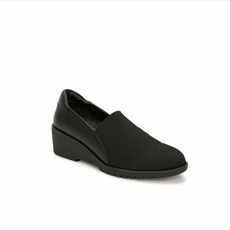 Nolte Black Leather -  Loafer - Adam Tucker