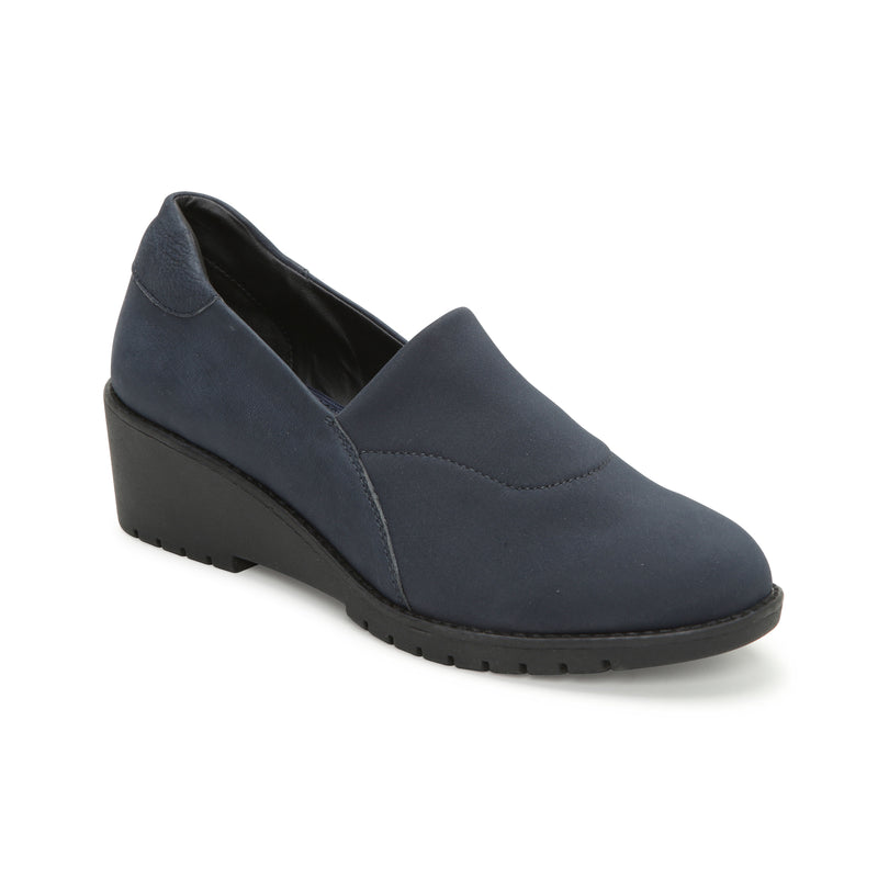 Nolte Mykonos Blue Leather -  Loafer - Adam Tucker