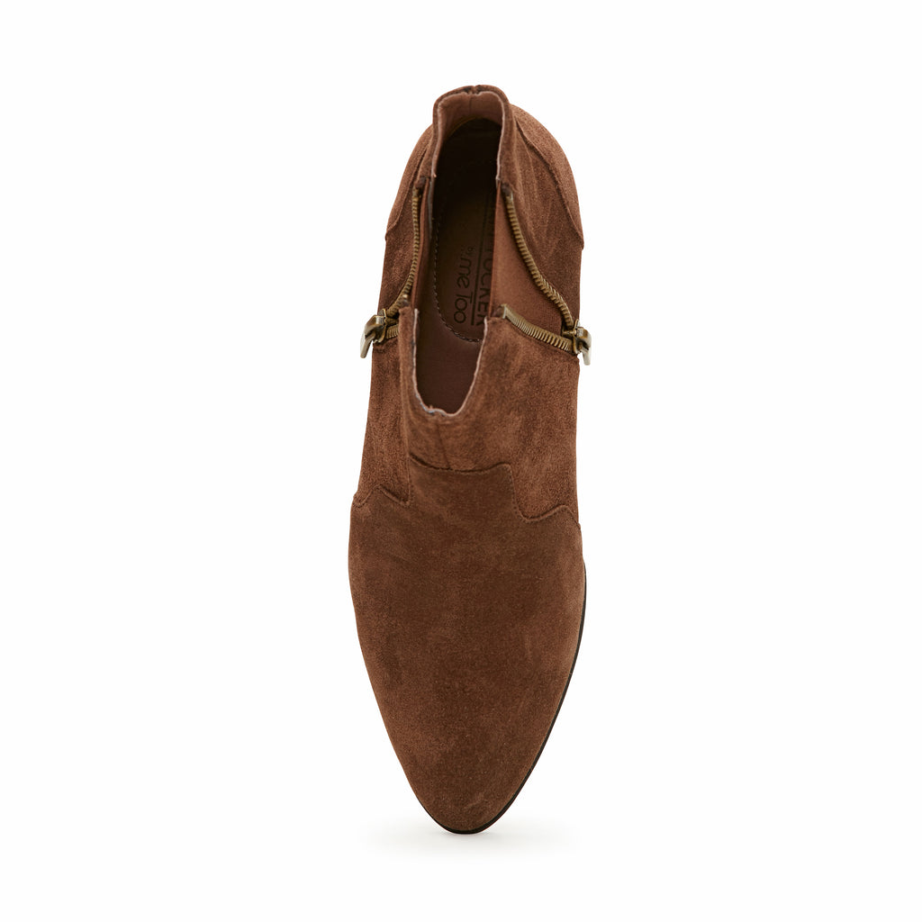 Trent Vintage Brown Suede