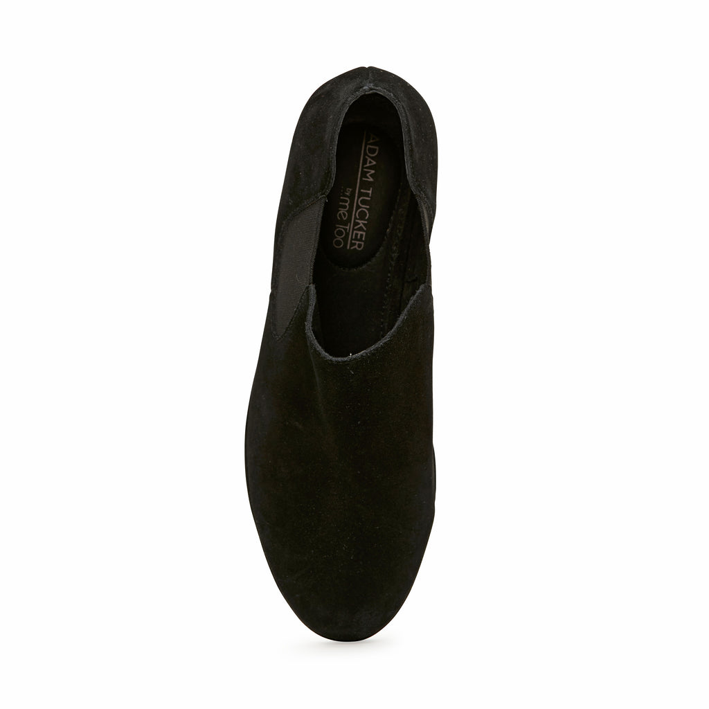 York Black Suede
