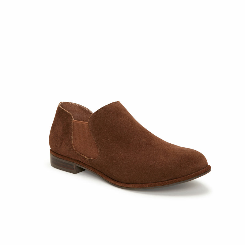 York Vintage Brown Suede
