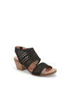 Kacee Black Leather -  HEEL - Adam Tucker