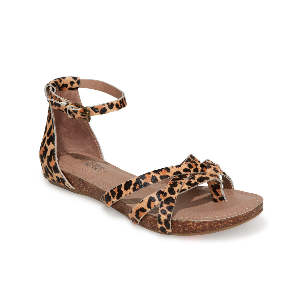 Niki Jaguar Haircalf -  SANDAL - Adam Tucker