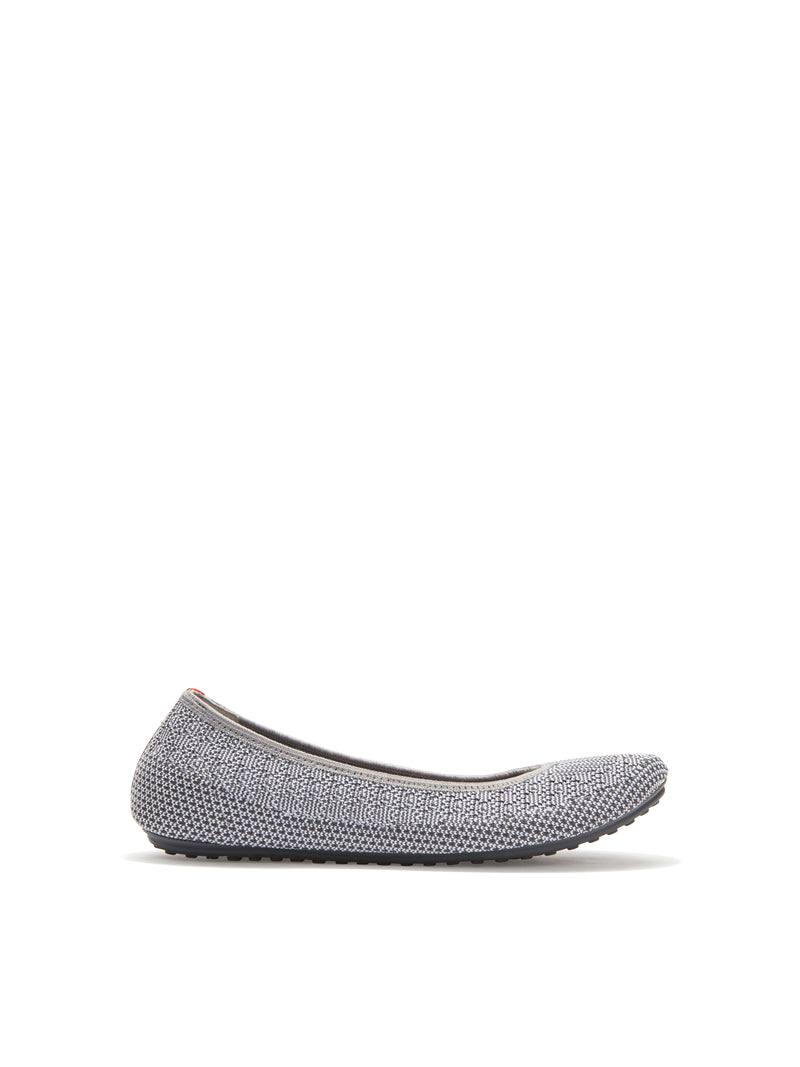 Kaila Light Grey Knit -  SNEAKER - Adam Tucker