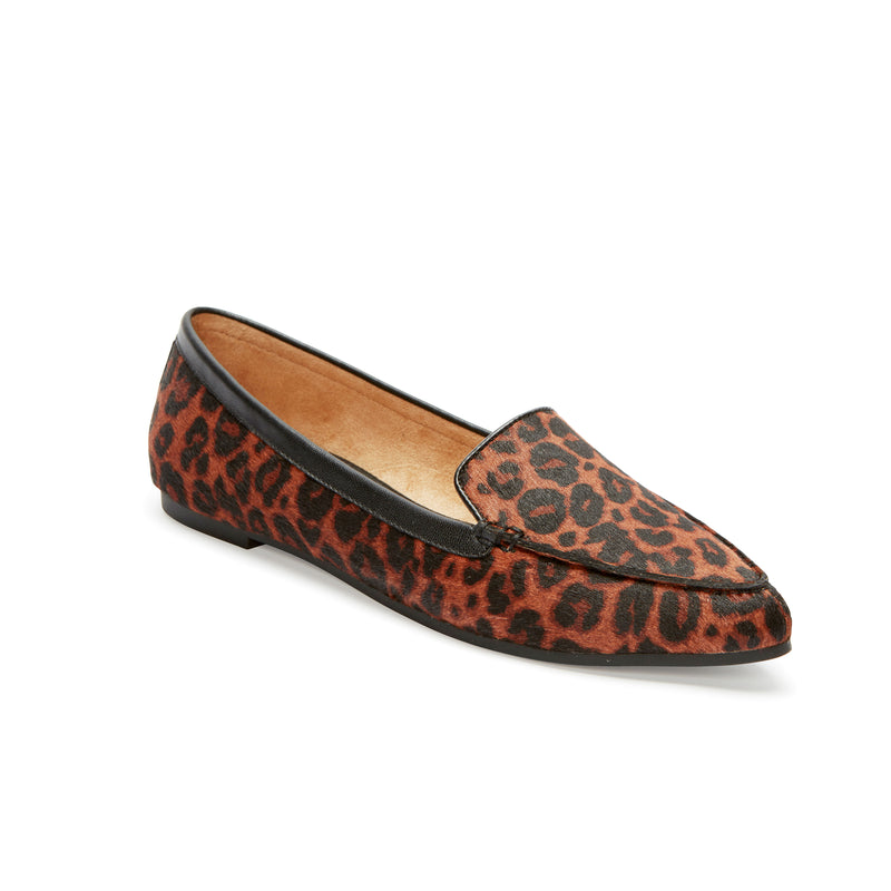 Audra Brown Black Haircalf -  Loafer - ...me Too