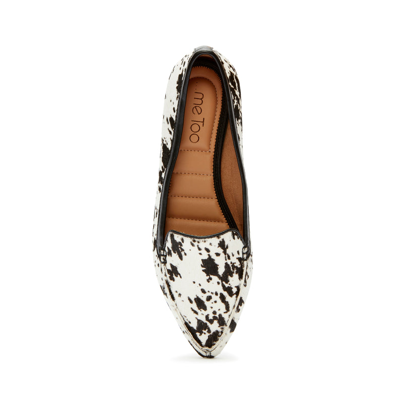 Audra White Black Cow -  Loafer - ...me Too