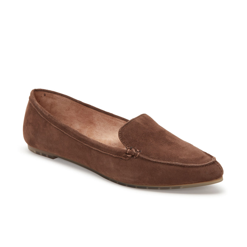 Audra Vintage Brown Suede -  Loafer - ...me Too