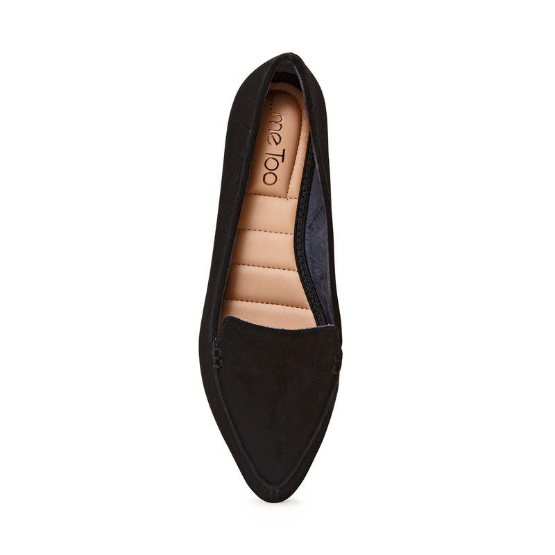 Audra Black Suede -  Loafer - ...me Too