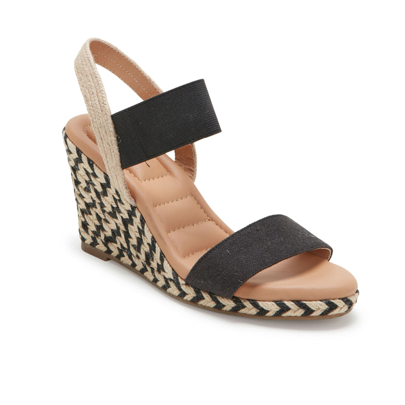 Barra Black Canvas -  SANDAL - me too