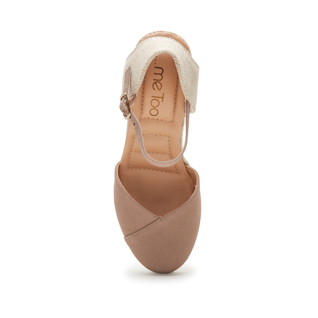Brenna Rosewood Leather -  SANDAL - ...me Too