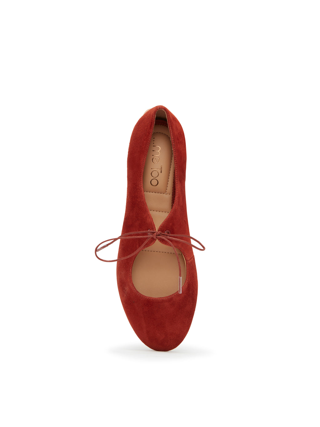 Cacey Rust Suede -  FLAT - ...me Too