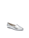 Audra Silver Metallic Leather -  Loafer - ...me Too