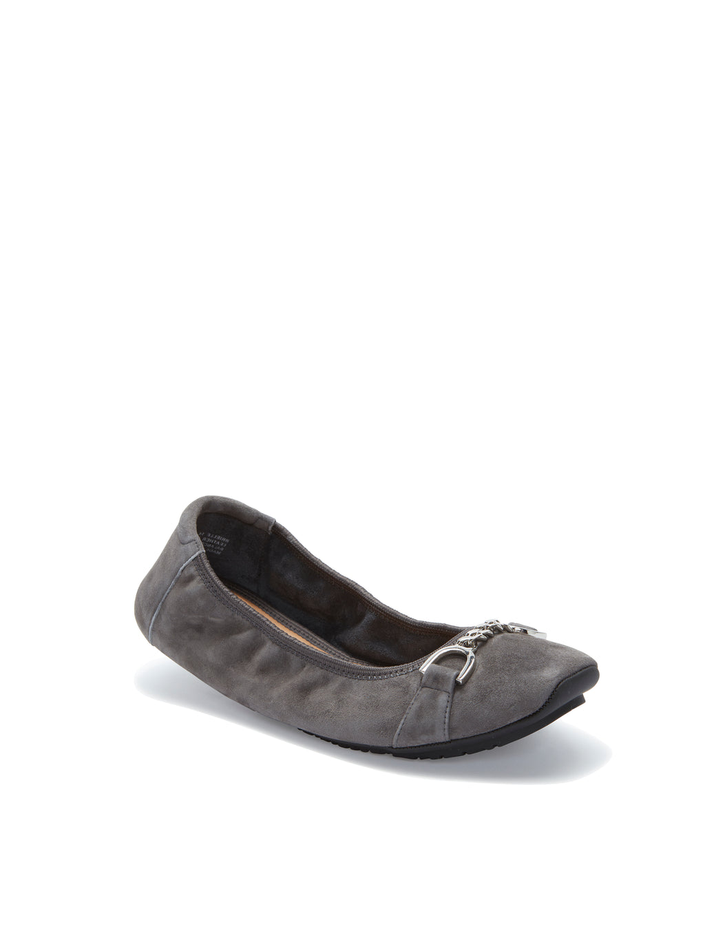 Brielle Charcoal Suede -  FLAT - ...me Too