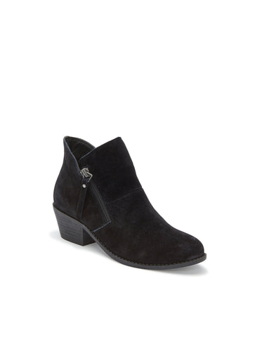 Zippora Black Suede