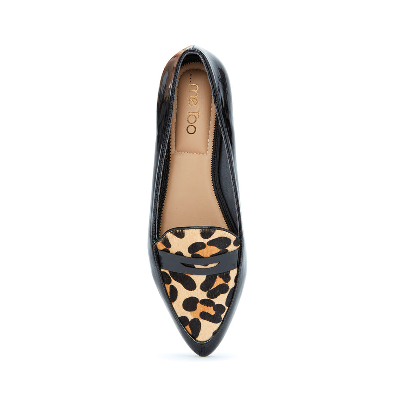 Addie Patent with Jaguar Haircalf -  Loafer - ...me Too