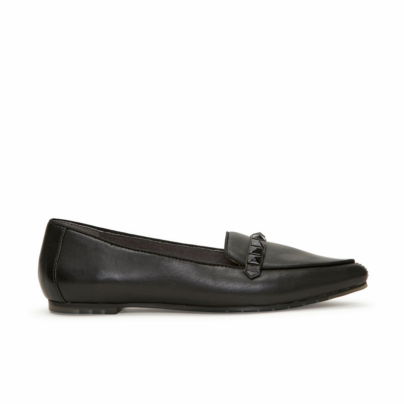 Alexis Black Leather -  Loafer - ...me Too