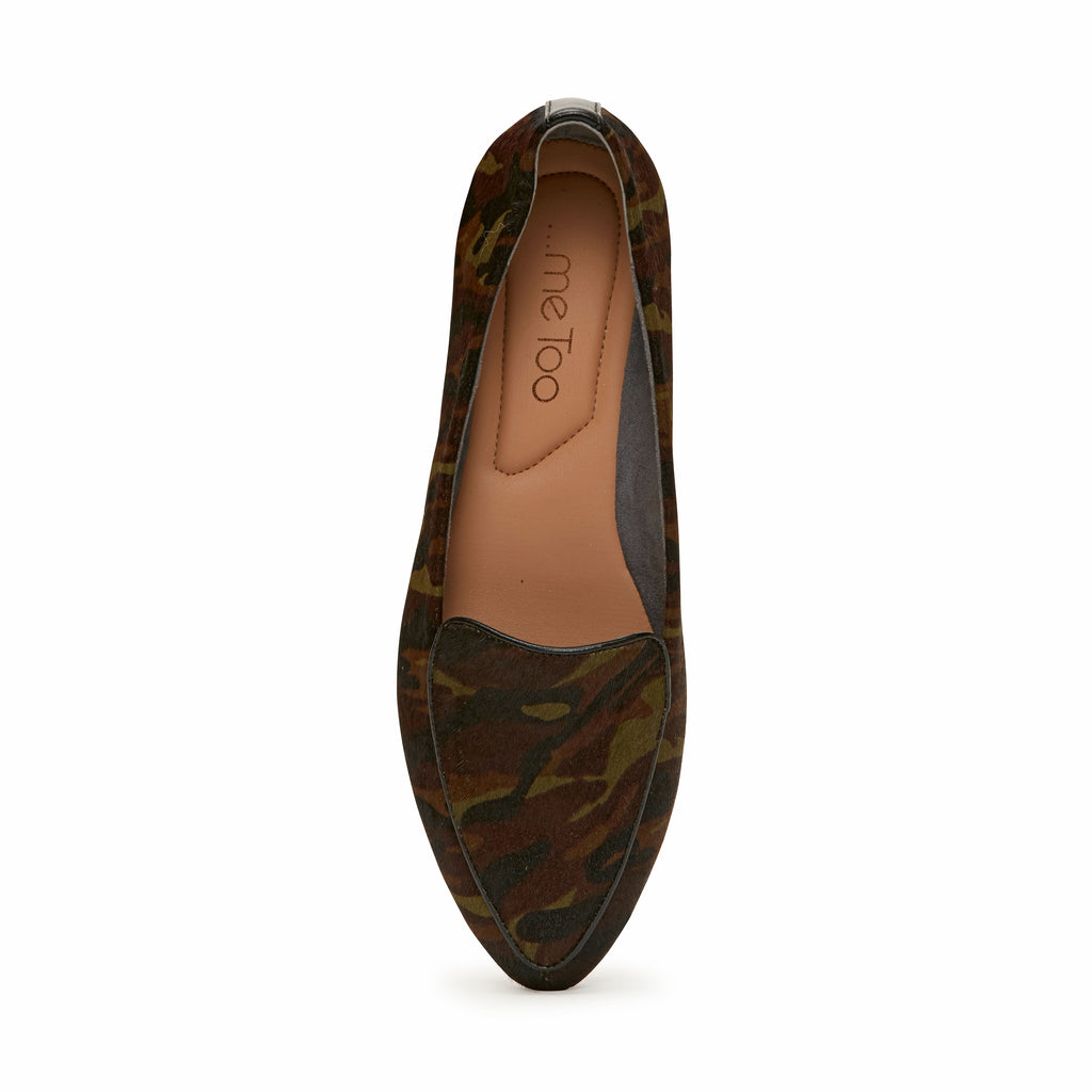 Anissa Green Camo -  Loafer - ...me Too