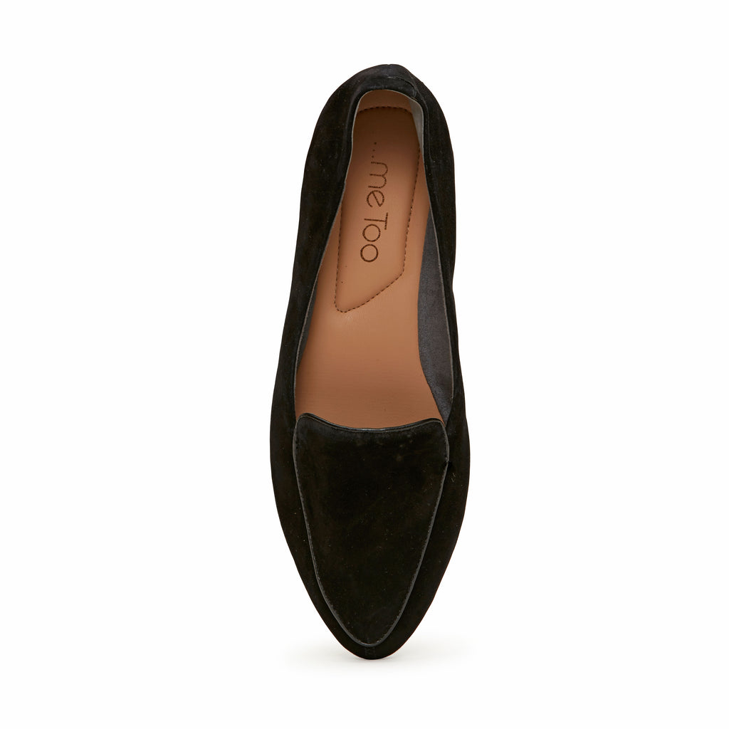 Anissa Black Suede -  Loafer - ...me Too
