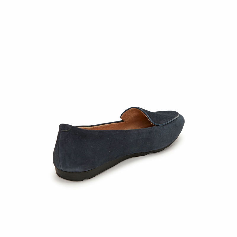 Anissa Navy Suede -  Loafer - ...me Too