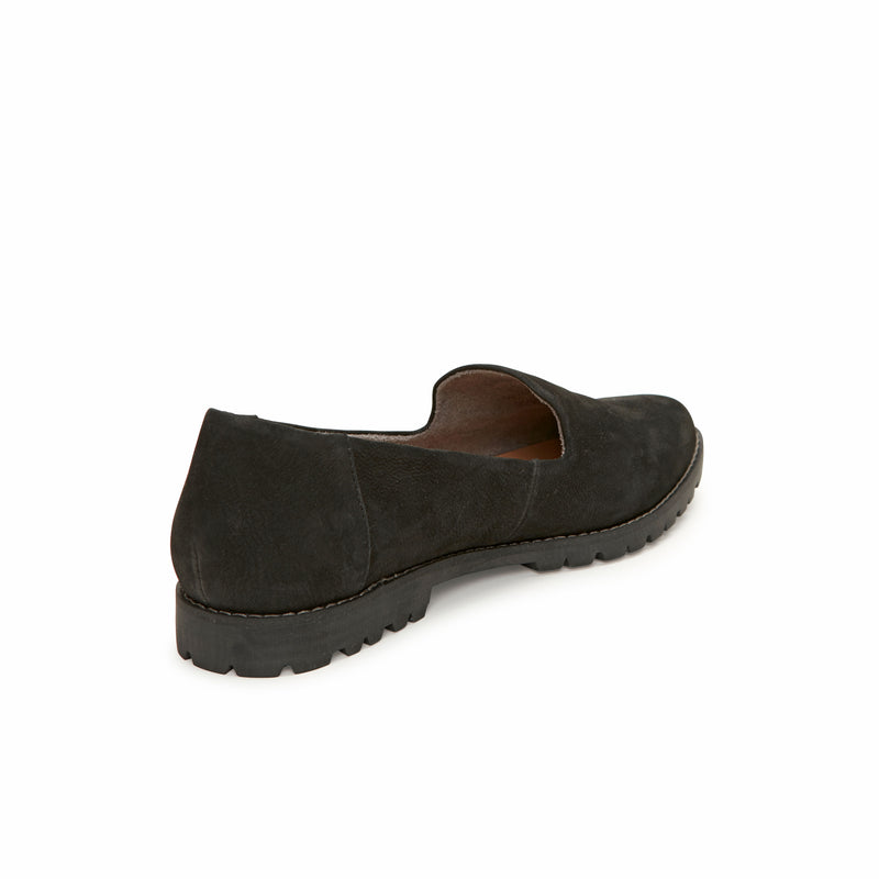 Cambrie Black Leather -  Loafer - ...me Too