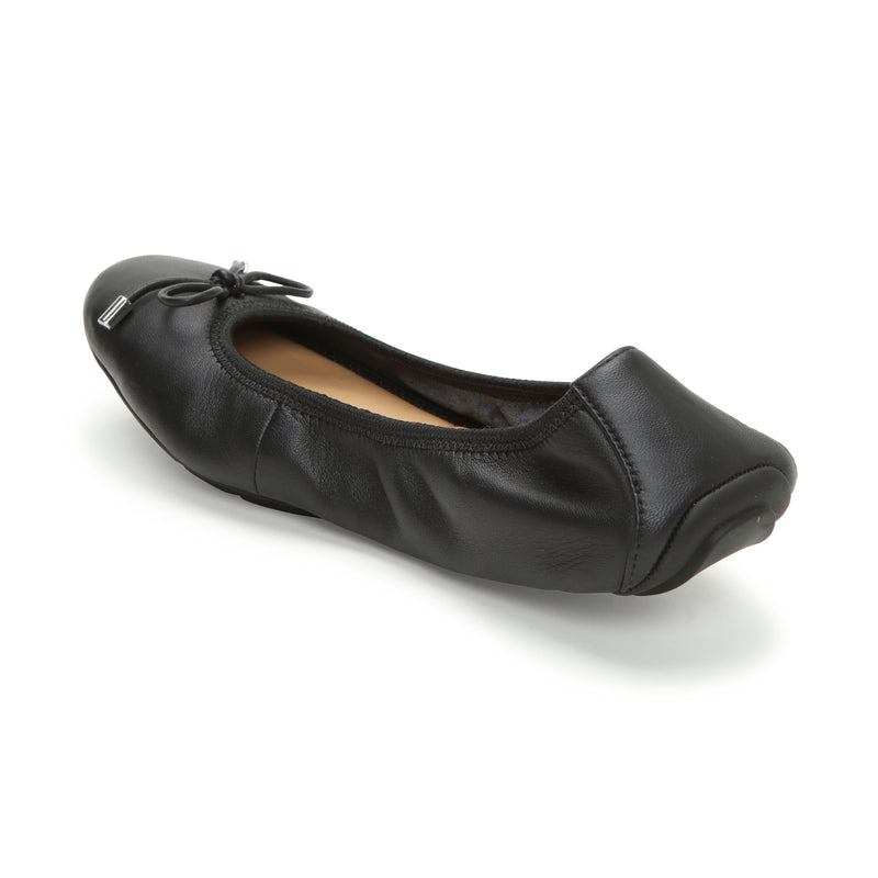Halle2.0 Black Leather -  FLAT - ...me Too