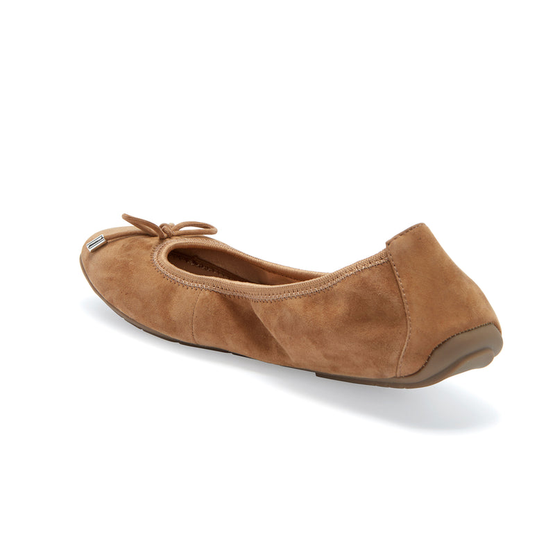 Halle2.0 Chestnut Suede -  FLAT - ...me Too