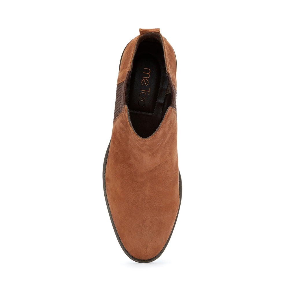 Shane Dark Camel Leather