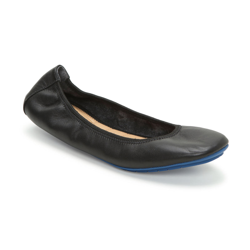 Tru Blu Black Leather -  FLAT - ...me Too