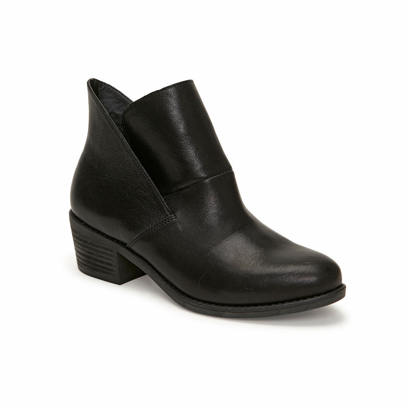 Zest Black Leather -  bootie - ...me Too