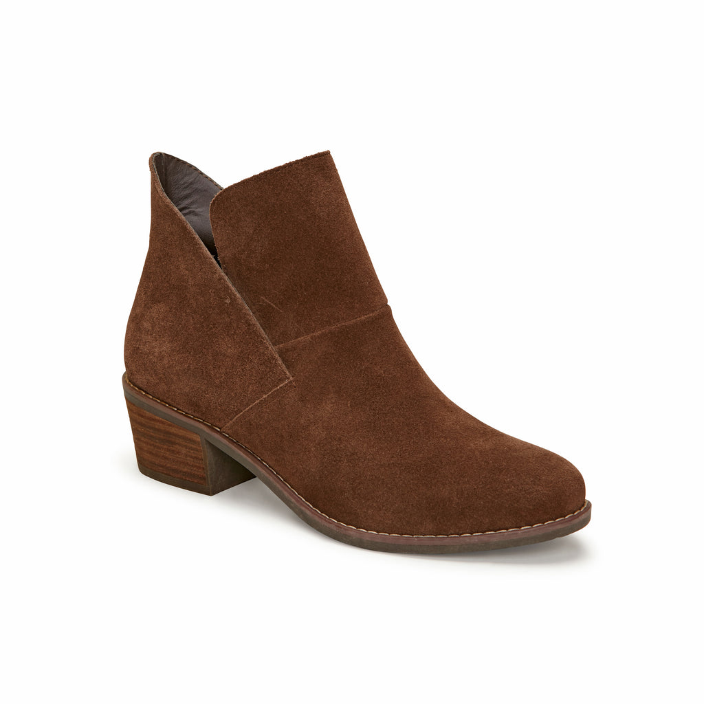 Zest Vintage Brown Suede