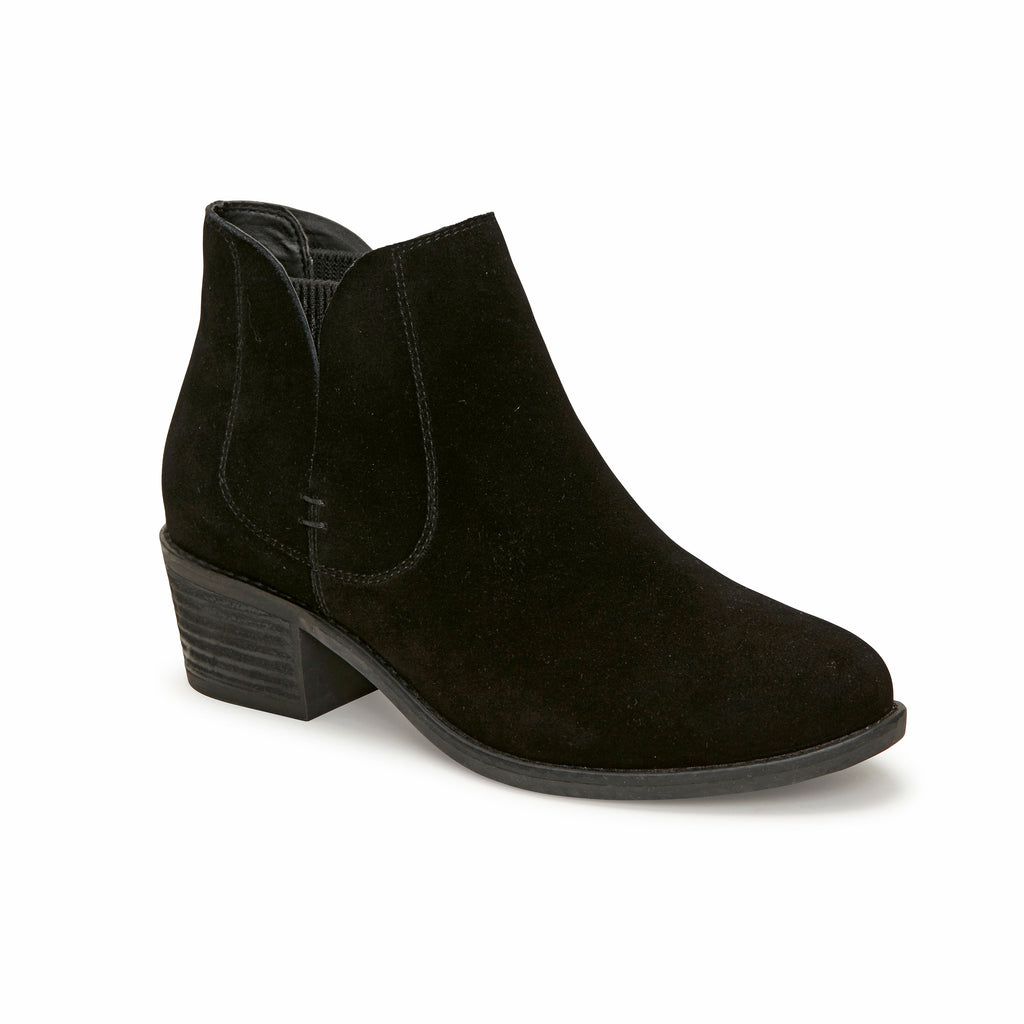 Zetti Black Suede -  bootie - ...me Too
