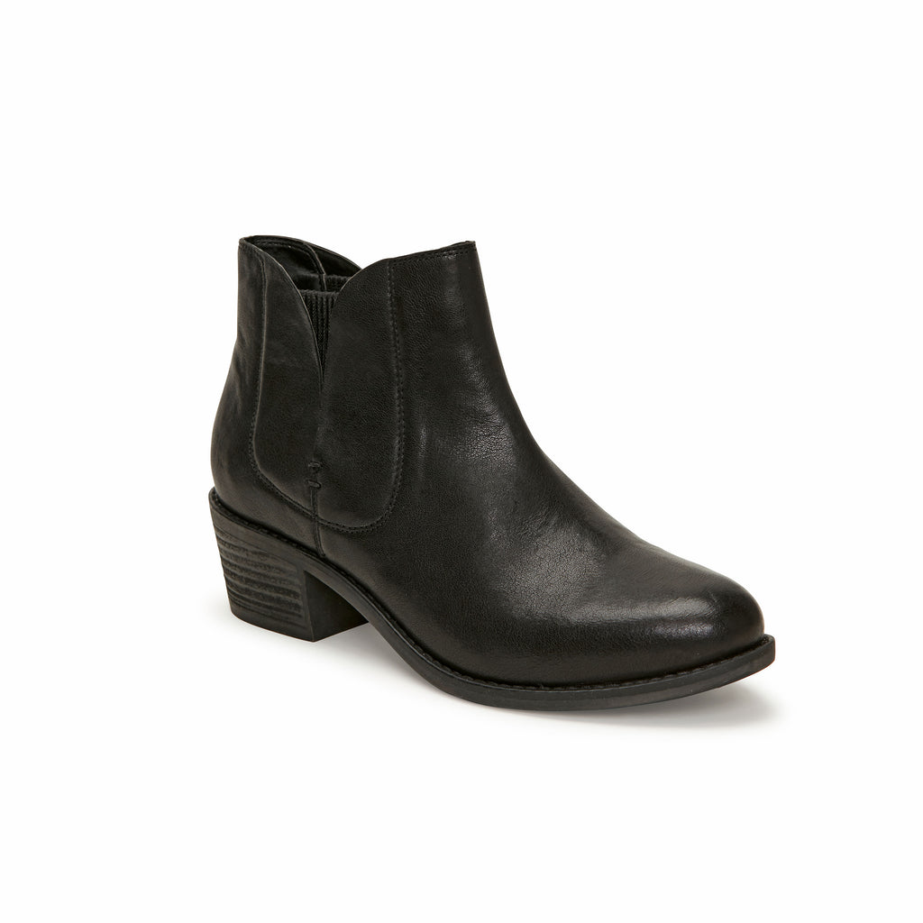 Zetti Black Leather -  bootie - me too