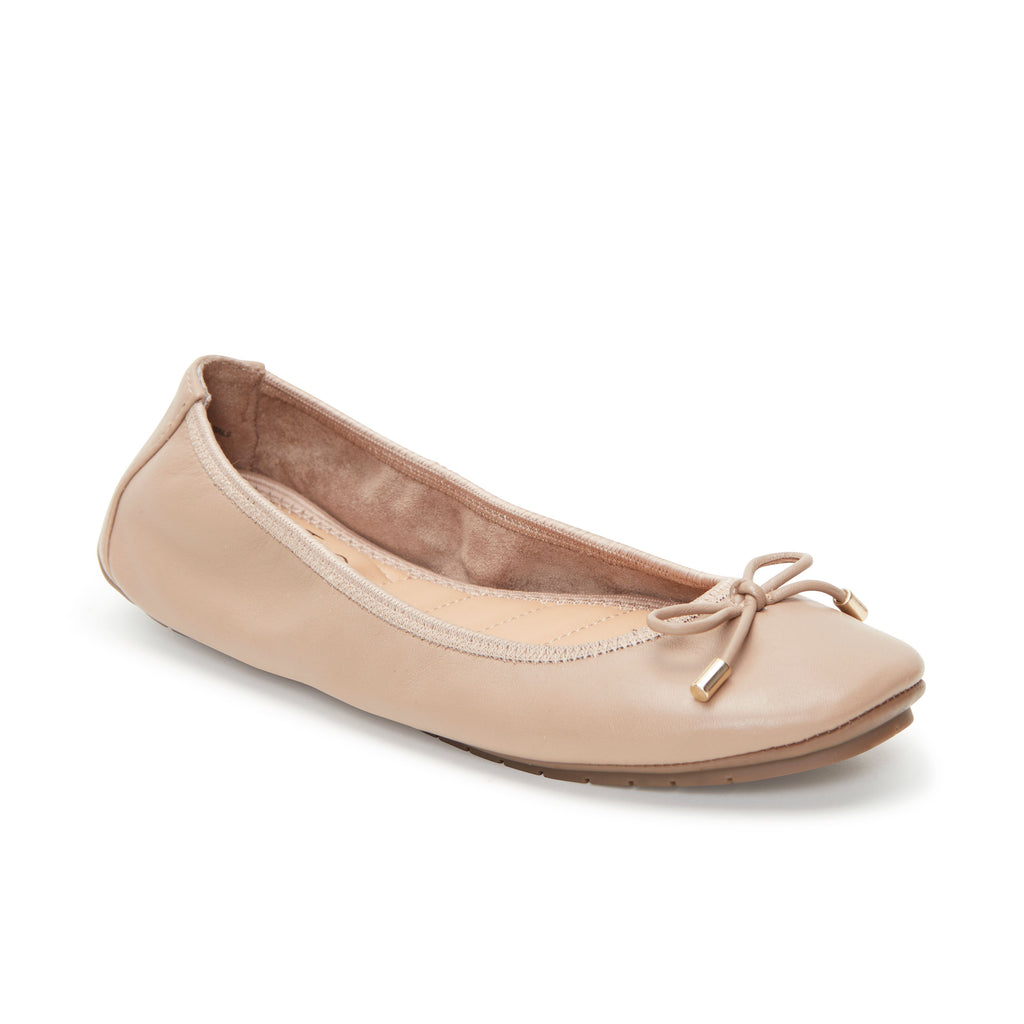 Halle 2.0 Nappa Leather Ballet Flat