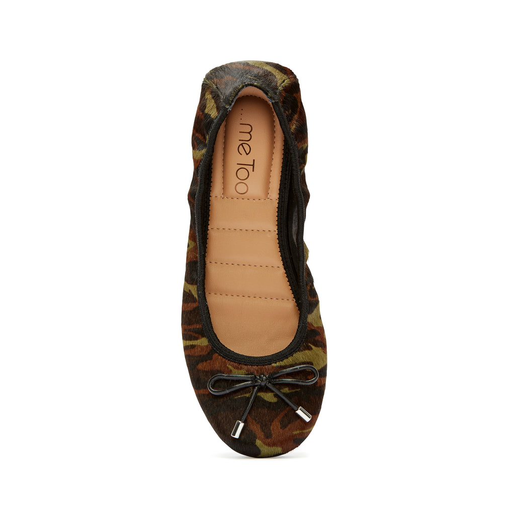 Halle2.0 Green Camo Haircalf -  FLAT - ...me Too
